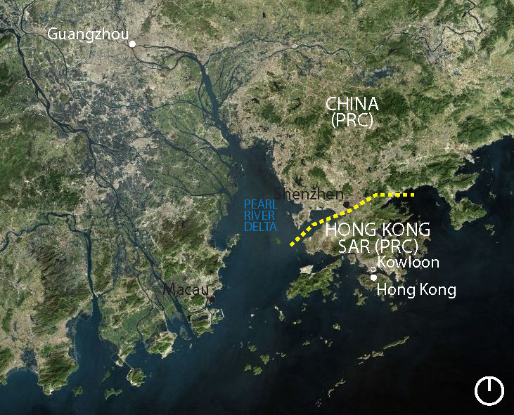 """protests in the pearl river delta Can the """"world's largest urban area"""" clean up its but active civic protests against new coal-fired plants in and outside shenzhen pearl river delta."""